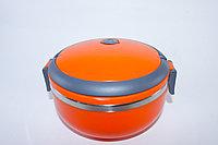 Термос для еды 1л, оранжевый