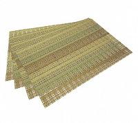 0649 FISSMAN Комплект из 4 сервировочных ковриков на обеденный стол 45x30 см (ПВХ)