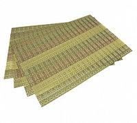 0650 FISSMAN Комплект из 4 сервировочных ковриков на обеденный стол 45x30 см (ПВХ)
