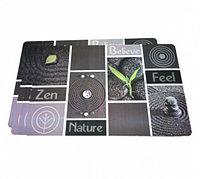 0653 FISSMAN Комплект из 4 сервировочных ковриков на обеденный стол 43,5x28,5 см (пластик)