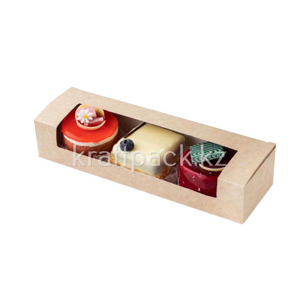 Pastry window box 200*80*60 DoEco (50/300)