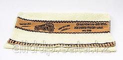 Полотенце банное, махровое, желтое, 89*38 см