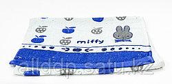 Полотенце кухонное, детское, синее, 69*32 см