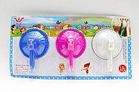 Вешалки-крючки для полотенец, разноцветные, 3 шт.