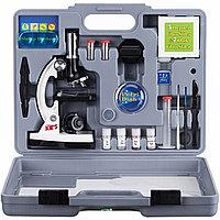 Микроскоп детский 28 предметов 300х-900х-1200х в кейсе