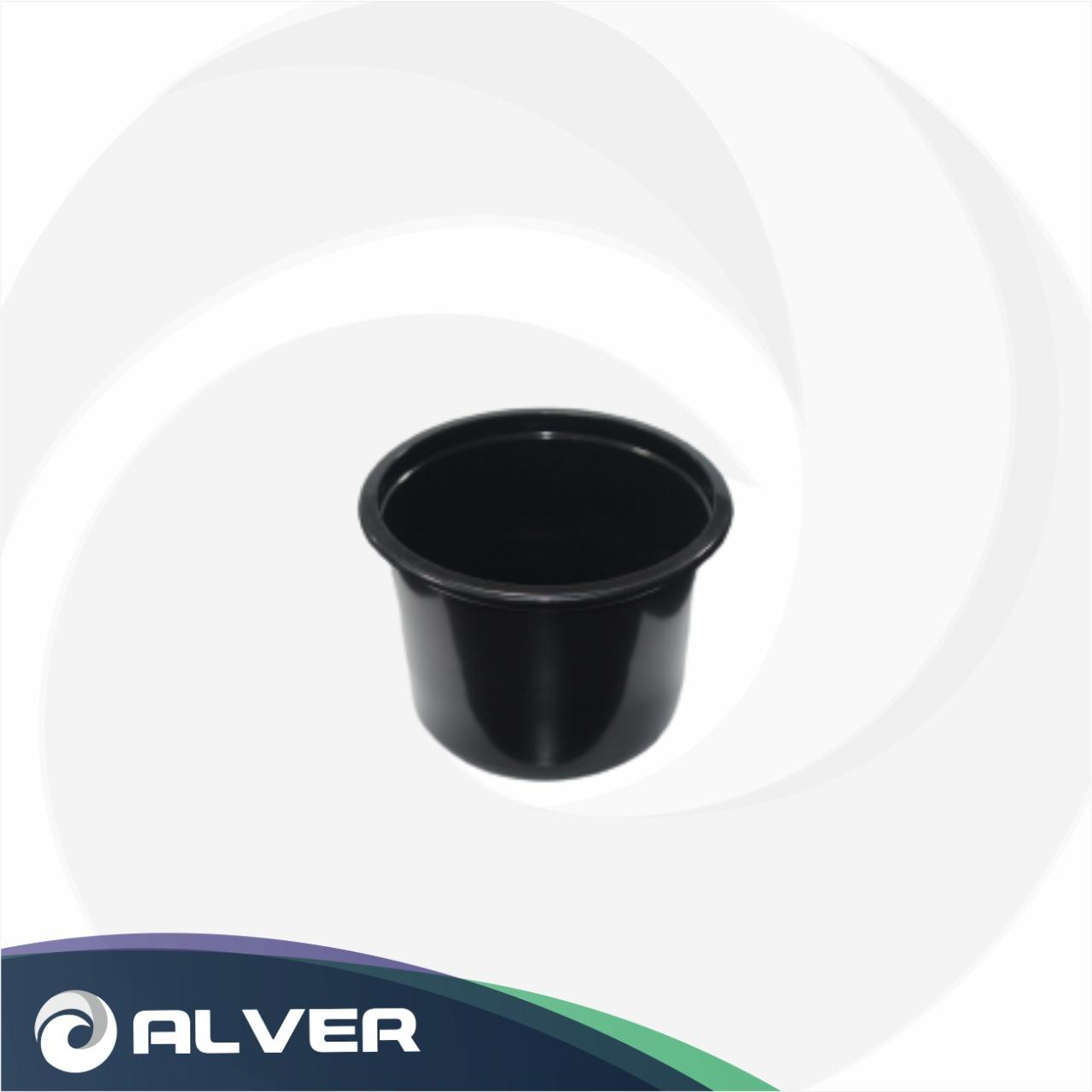 Контейнер суповой 500мл К-115 (черный)