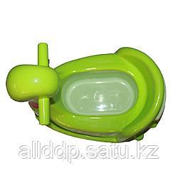 """Горшок-стульчик """"Утёнок"""", 38*36 см Зеленый"""