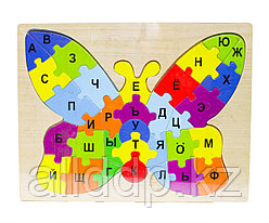 """Пазл для малышей """"Алфавит бабочка"""", 30*28 см"""
