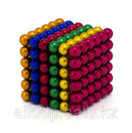 Магнитный конструктор Неокуб, 5мм, 216 шт, color