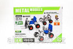 Конструктор Metal models, 84 детали