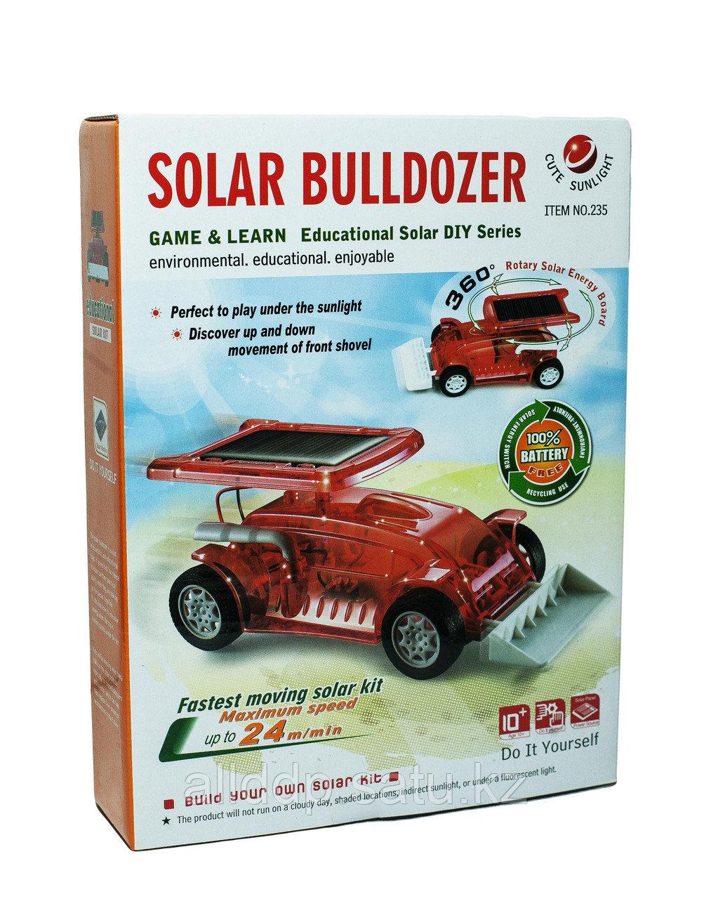 """Конструктор """"Бульдозер на солнечных батареях (""""Solar Bulldozer"""")"""""""