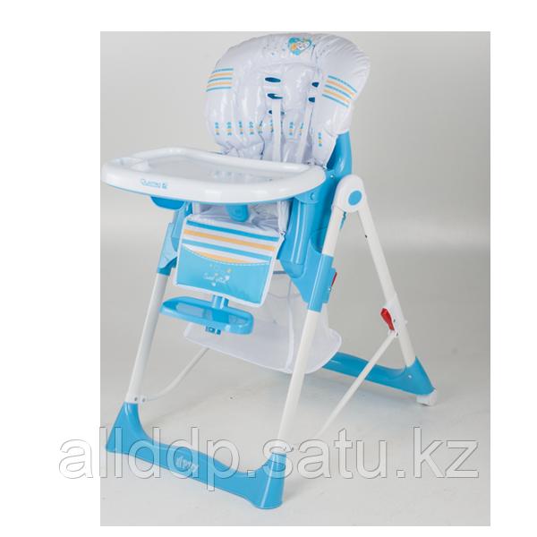Стульчик для кормления Quatro Hippy голубой