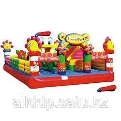 """Уличный надувной батут """"Замок Дональда Дака"""" H-3901, 5*8*3.1м"""