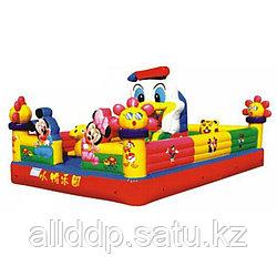 """Уличный надувной батут """"Замок Дональда Дака"""" H-3902, 4*5*2.7м"""