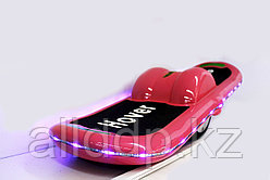 "Электроборд (гироскутер) ""Hover Wheels"", с подсветкой (розовый)"