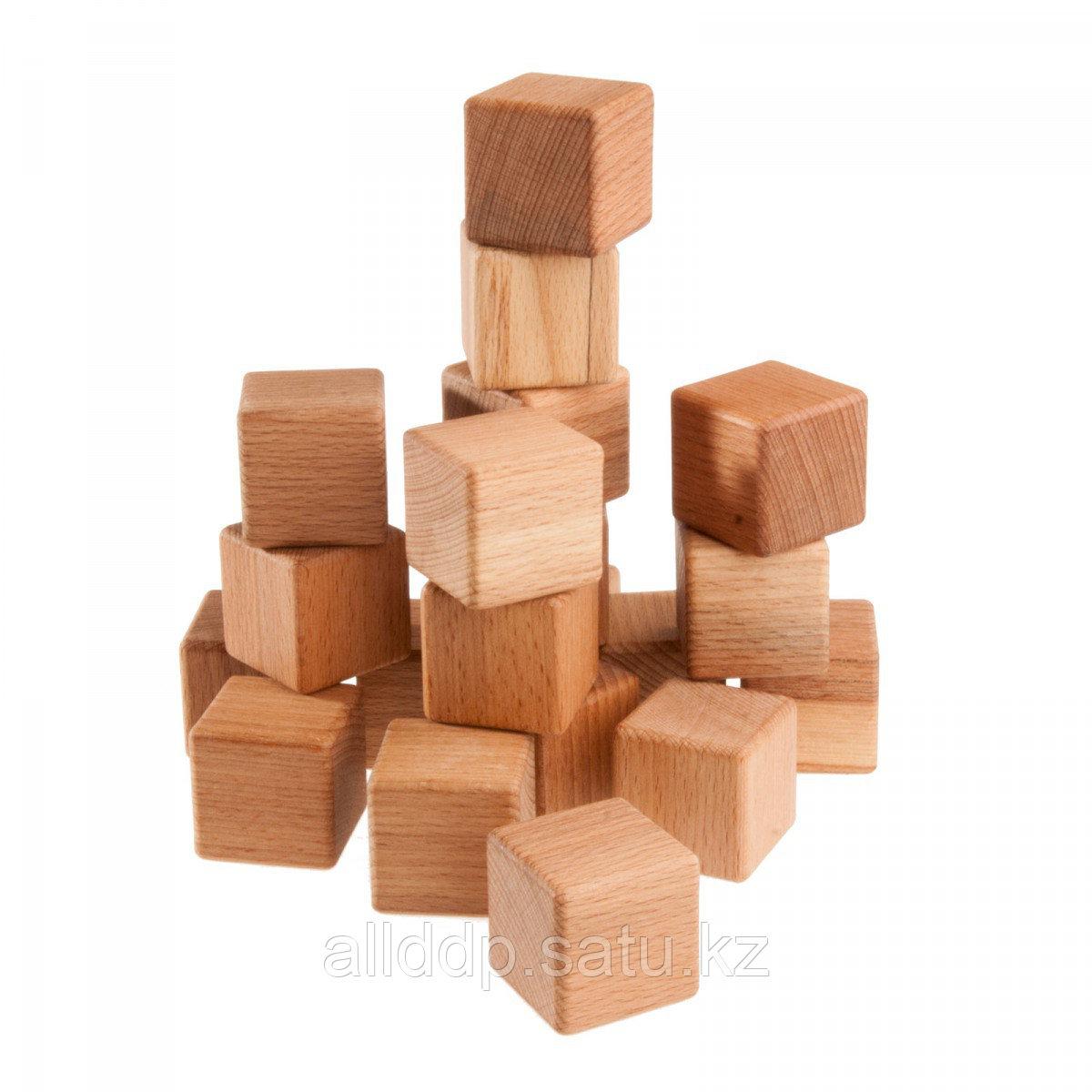Куб деревянный 20см К230