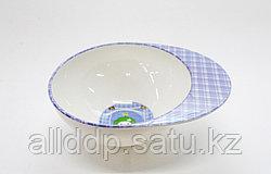 Детская пластиковая супница, синяя