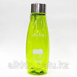 Эко бутылка для воды, 0,5 л, зеленая