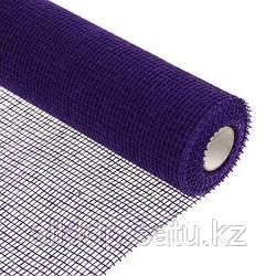 Сетка рулонная, джут, фиолетовая