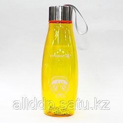 Эко бутылка для воды, 0,5 л, оранжевая