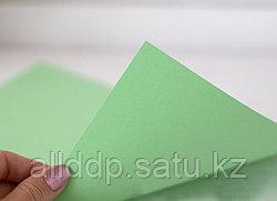Аква бумага, двухсторонняя, зеленая