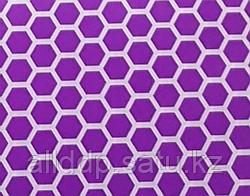 Аква бумага, соты, фиолетовая