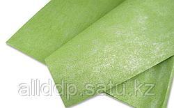 Упаковочная бумага, двусторонний блеск, зеленая