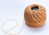 """Нитки для вязания """"Ирис"""", светло-коричневые"""