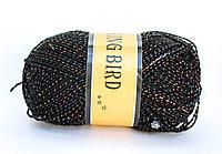 Пряжа акриловая, KING BIRD, 100 гр., черная