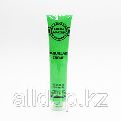 Неоновая краска для грима, зеленая, 19 гр.