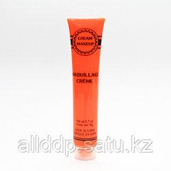 Неоновая краска для грима, оранжевая, 19 гр.