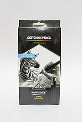 Набор графитовых карандашей, мягкая упаковка