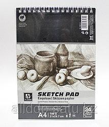 Скетчбук для зарисовок, А4, 160 г/м²