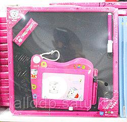 Доска для рисования, розовая, 30*30 см