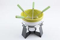 Набор для приготовления шоколадного фондю SUMMER 6 предметов (керамика) FISSMAN