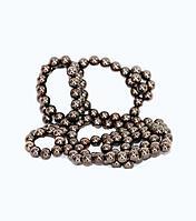 Антистресс - магнитный, 64 шарика, черный/серебро