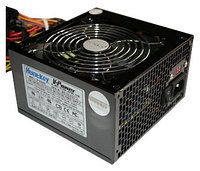 "Блок питания для ПК ""HuntKey LW-6550HG 500PZW ATX P4 +24 pin, SATA,6Pin,Black,12sm Fan,Box"""