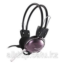 """Наушники """"Headphones+ microphone Cosonic CT-737,Ø 30mm,32Ω ± 15℅,93± 3 dB,20-20,000Hz,30mW,2.2m кор-60шт"""""""