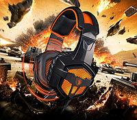 "Наушники ""Headphones+ microphone SADES SA738 Gaming Headset,Ø 40mm,2,2Ω ± 15 ,-38± -3 dB,20-20000Hz,2.0m"""