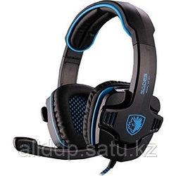 "Наушники ""Headphones+ microphone SADES SA901 Gaming Series,7in1 Sound Efect,Ø 40mm,32Ω ± 15℅,114± 3 dB"""
