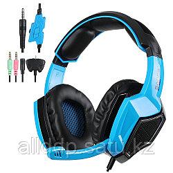 "Наушники ""Headphones+ microphone SADES SA920 Gaming Series,Ø 40mm,32Ω ± 15℅,111± 3 dB,20-20000Hz,3m"""