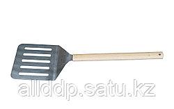 Лопата поворотная для изъятия готовой пиццы из печи, 27*84 см