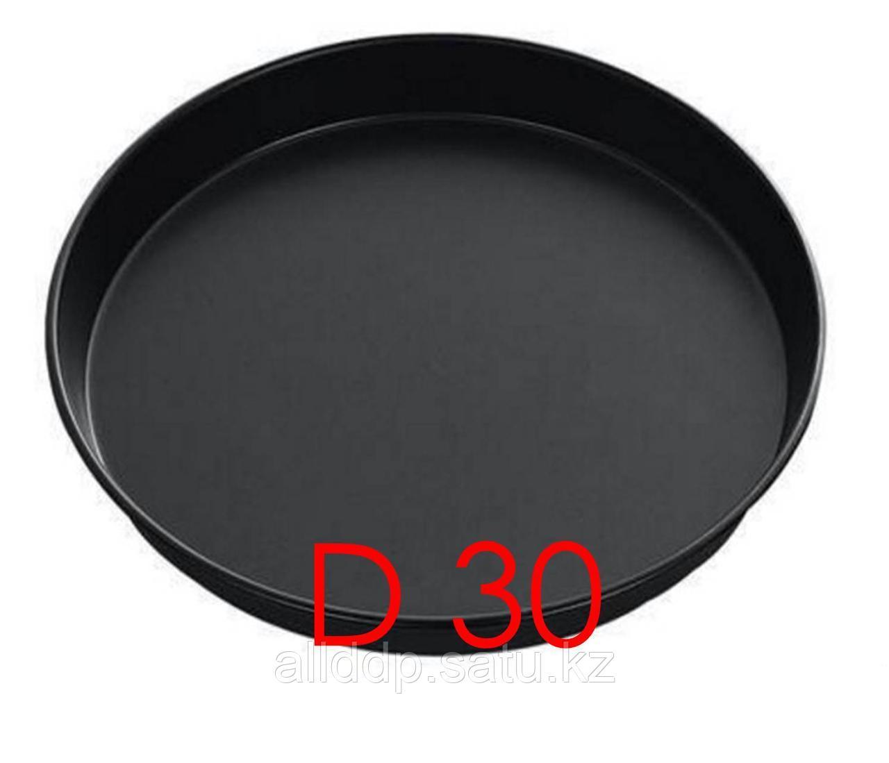 Форма для пиццы, глубокая, D 300 мм