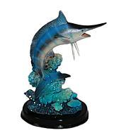 Акула на подставке, h-11см, керамика