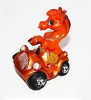 Лошадка в машине, h-7см, керамика