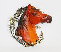 """Магнит-подкова"""" Лошадь"""" h-10см, полистоун"""