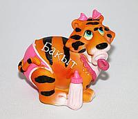 """Тигр """"Бахыт"""" (счастье), h-12см, полистоун"""