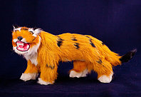 Тигр, h-14см, мех/папье маше