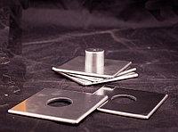 Подставка под стаканы, 9*9см, набор из 4шт. на подставке, металл