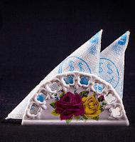Подставка для салфеток, 7,5*14см, керамика